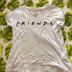 friends logo t-shirt
